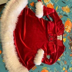 Size 3T Toddler Santa Dress